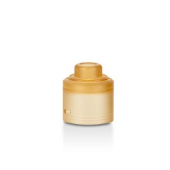 Authentic GAS Mods PMMA Replacement Top Cap for G.R.1 GR1 Pro RDA - Amber