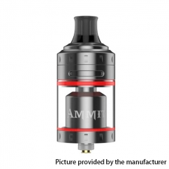 (Ships from Germany)Authentic Ammit 24mm MTL RTA Rebuildable Tank Atomizer 4ml - Gun Metal