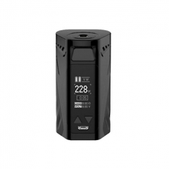 Authentic Rincoe Manto X 228W TC VW APV Box Mod - Black