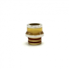Ultem PEI + 316SS 510 Replacement Drip Tip - Silver