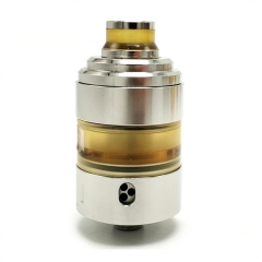 Coppervape Hussar Project X Style 316SS 22mm RTA Rebuildable Tank Atomizer 2ml - Silver