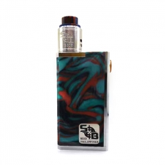 SOB Emperor Style 24mm Mechanical Box Mod + Outlaw Style RDA Kit (POM + SS) - Resin