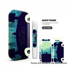 Authentic Vapethink Magic Shark 3M Wrapper Skin Sticker for IQOS - No.1835