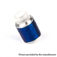 Coil Father King Drop Style 24mm RDA Rebuildable Dripping Atomizer - Blue