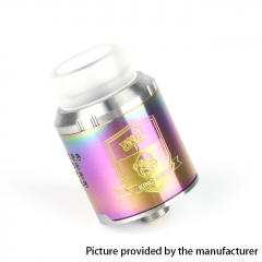 Coil Father King Drop Style 24mm RDA Rebuildable Dripping Atomizer - Rainbow