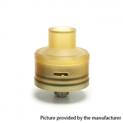 Coopervape Royal Atty DB 316SS 22mm RDA Rebuildable Dripping Atomizer w/BF Pin - Yellow