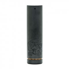 Lysen Back To Basics B2B V4 Style 18650/20700/21700 Mechanical Mod 29mm - Black