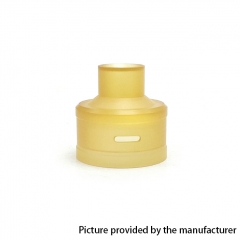 Replacement PEI Top Cap for Royal Atty DB RDA by Coppervape - Yellow