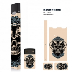 Authentic Vapethink Magic Shark 3M Wrapper Smart Skin Sticker for Juul - No.1111