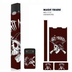 Authentic Vapethink Magic Shark 3M Wrapper Smart Skin Sticker for Juul - No.1112
