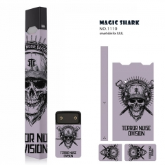 Authentic Vapethink Magic Shark 3M Wrapper Smart Skin Sticker for Juul - No.1110