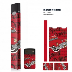 Authentic Vapethink Magic Shark 3M Wrapper Smart Skin Sticker for Juul - No.1169