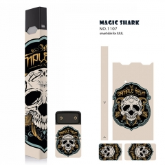 Authentic Vapethink Magic Shark 3M Wrapper Smart Skin Sticker for Juul - No.1107