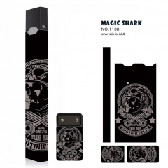 Authentic Vapethink Magic Shark 3M Wrapper Smart Skin Sticker for Juul - No.1108