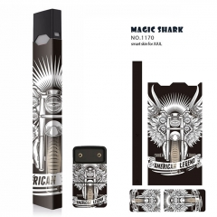 Authentic Vapethink Magic Shark 3M Wrapper Smart Skin Sticker for Juul - No.1170