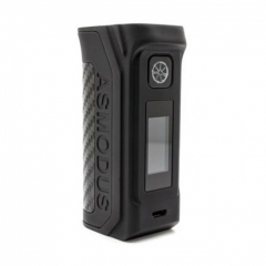 Authentic asMODus Amighty 100W 18650/20700/21700 VV/VW/TC Box Mod - Black