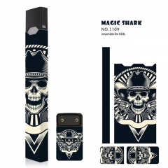Authentic Vapethink Magic Shark 3M Wrapper Smart Skin Sticker for Juul - No.1109