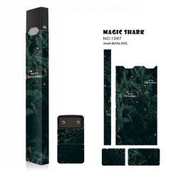 Authentic Vapethink Magic Shark 3M Wrapper Smart Skin Sticker for Juul - No.1097