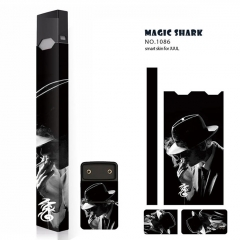 Authentic Vapethink Magic Shark 3M Wrapper Smart Skin Sticker for Juul - No.1086