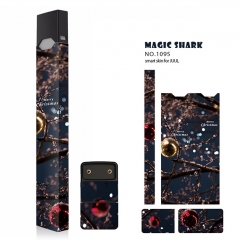 Authentic Vapethink Magic Shark 3M Wrapper Smart Skin Sticker for Juul - No.1095