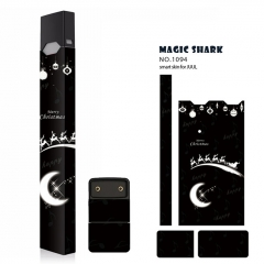 Authentic Vapethink Magic Shark 3M Wrapper Smart Skin Sticker for Juul - No.1094