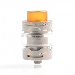 Authentic StageVape Armor 25mm RTA Rebuildable Tank Atomizer 3ml - Silver
