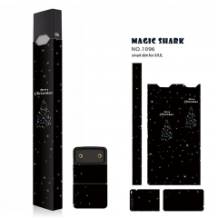 Authentic Vapethink Magic Shark 3M Wrapper Smart Skin Sticker for Juul - No.1096