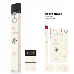 Authentic Vapethink Magic Shark 3M Wrapper Smart Skin Sticker for Juul - No.1100