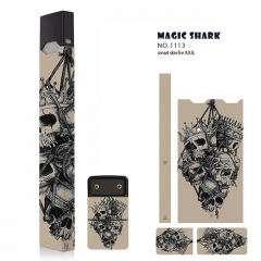 Authentic Vapethink Magic Shark 3M Wrapper Smart Skin Sticker for Juul - No.1113