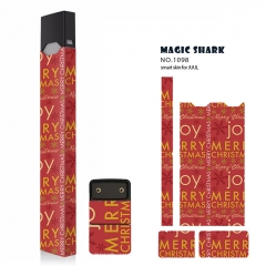 Authentic Vapethink Magic Shark 3M Wrapper Smart Skin Sticker for Juul - No.1098