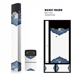 Authentic Vapethink Magic Shark 3M Wrapper Smart Skin Sticker for Juul - No.1144