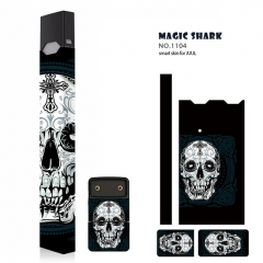 Authentic Vapethink Magic Shark 3M Wrapper Smart Skin Sticker for Juul - No.1104
