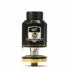 Coil Father King 25mm RDTA Rebuildable Dripping Tank Atomizer 6.5ml - Black