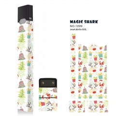 Authentic Vapethink Magic Shark 3M Wrapper Smart Skin Sticker for Juul - No.1099