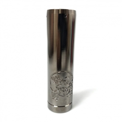 Lysen Back To Basics B2B V4 Style 18650/20700/21700 Mechanical Mod 29mm - Gun Metal