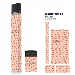 Authentic Vapethink Magic Shark 3M Wrapper Smart Skin Sticker for Juul - No.1103
