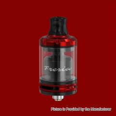 Authentic Damn Vape Fresia 22mm RTA Rebuildable Tank Atomizer 3.5ml - Red