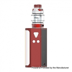 Pre-Sale Authentic Desire CUT220 220W TC VW Box Mod + Bulldog Sub Ohm Tank Kit 4.3ml - Red
