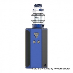 Pre-Sale Authentic Desire CUT220 220W TC VW Box Mod + Bulldog Sub Ohm Tank Kit 4.3ml - Blue