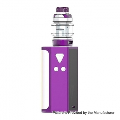 Pre-Sale Authentic Desire CUT220 220W TC VW Box Mod + Bulldog Sub Ohm Tank Kit 4.3ml - Purple