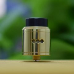 Goon Style 24mm RDA Rebuildable Dripping Atomizer w/BF Pin (Polished Version) - Brass