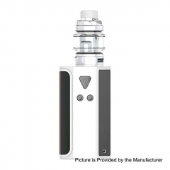 Authentic Desire CUT220 220W TC VW Box Mod + Bulldog Sub Ohm Tank Kit 4.3ml - White
