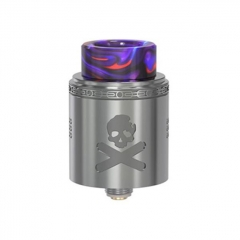 Pre-Sale Authentic Vandy Vape Bonza V1.5 24mm RDA Rebuildable Dripping Atomizer w/ BF Pin - Gun Metal