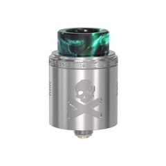 Pre-Sale Authentic Vandy Vape Bonza V1.5 24mm RDA Rebuildable Dripping Atomizer w/ BF Pin - Silver