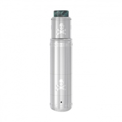 Pre-Sale Authentic Vandy Vape Bonza Hybrid Mechanical Tube Mod + V1.5 RDA Kit - Silver