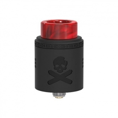 Pre-Sale Authentic Vandy Vape Bonza V1.5 24mm RDA Rebuildable Dripping Atomizer w/ BF Pin - Matte Black