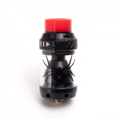 Authentic Move Vape Black Widow 25.5mm RTA Rebuildable Tank Atomizer 3.8ml - Black