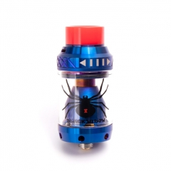 Authentic Move Vape Black Widow 25.5mm RTA Rebuildable Tank Atomizer 3.8ml - Blue