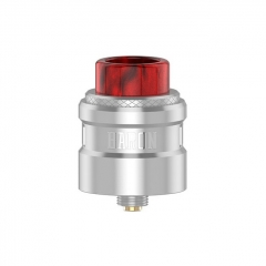 Authentic Geekvape Baron 24mm RDA Rebuildable Dripping Atomizer w/ BF Pin - Silver