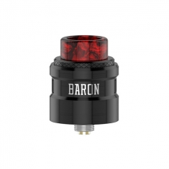 Authentic Geekvape Baron 24mm RDA Rebuildable Dripping Atomizer w/ BF Pin - Black